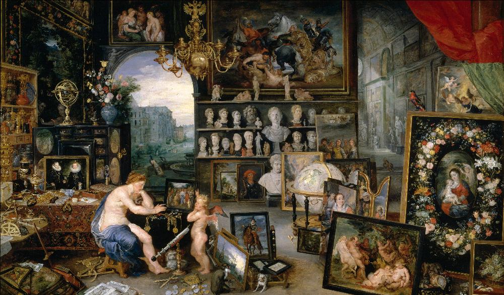 «La  Vista» Jan Brueghel de Velours y Peter Paul Rubens