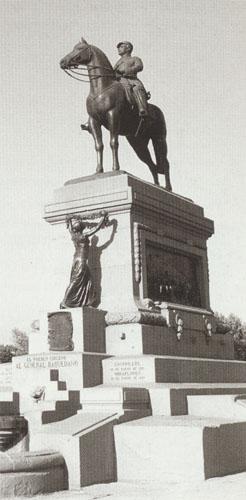 Monumento a Baquedano, de Virginio Arias.
