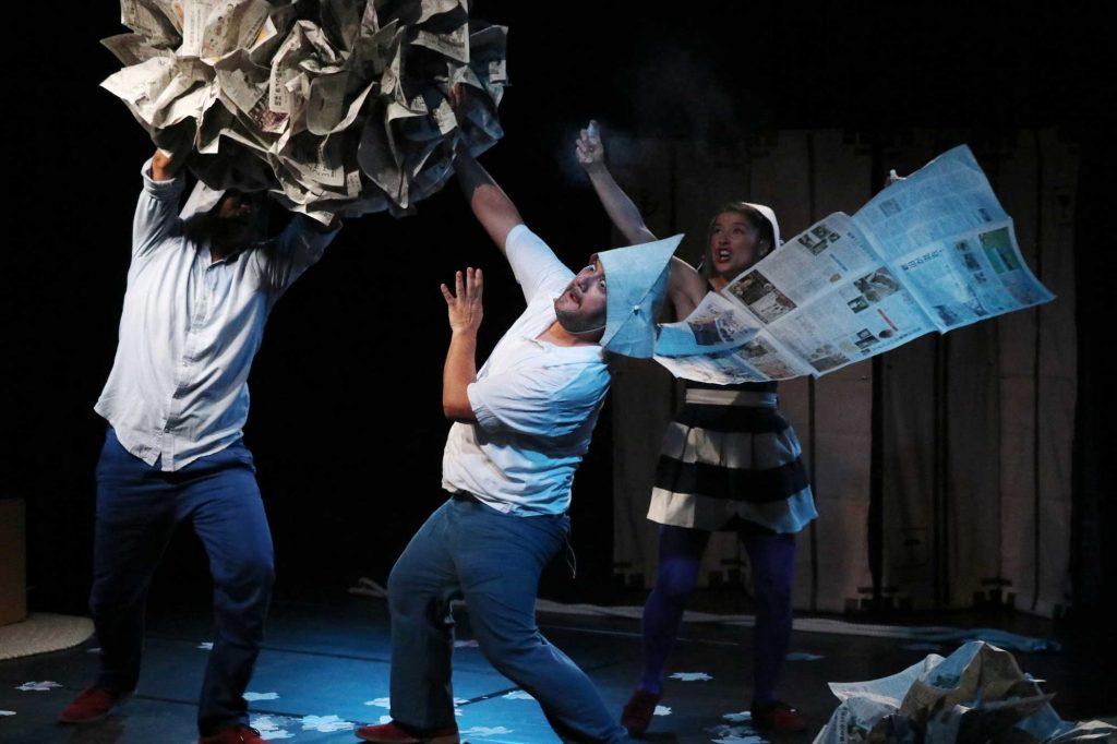 Teatro de Ocasión chileno asombra al público asiático