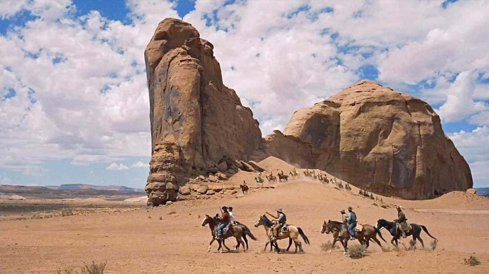 Desierto en la pantalla