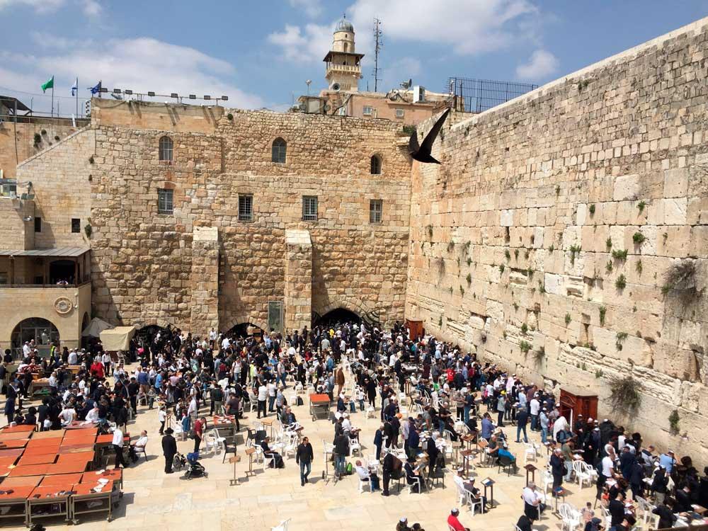 Jerusalén: El fantasma de las cosas por venir