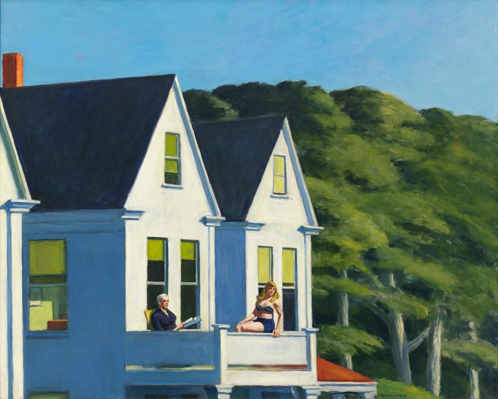La primavera suiza de Edward Hopper