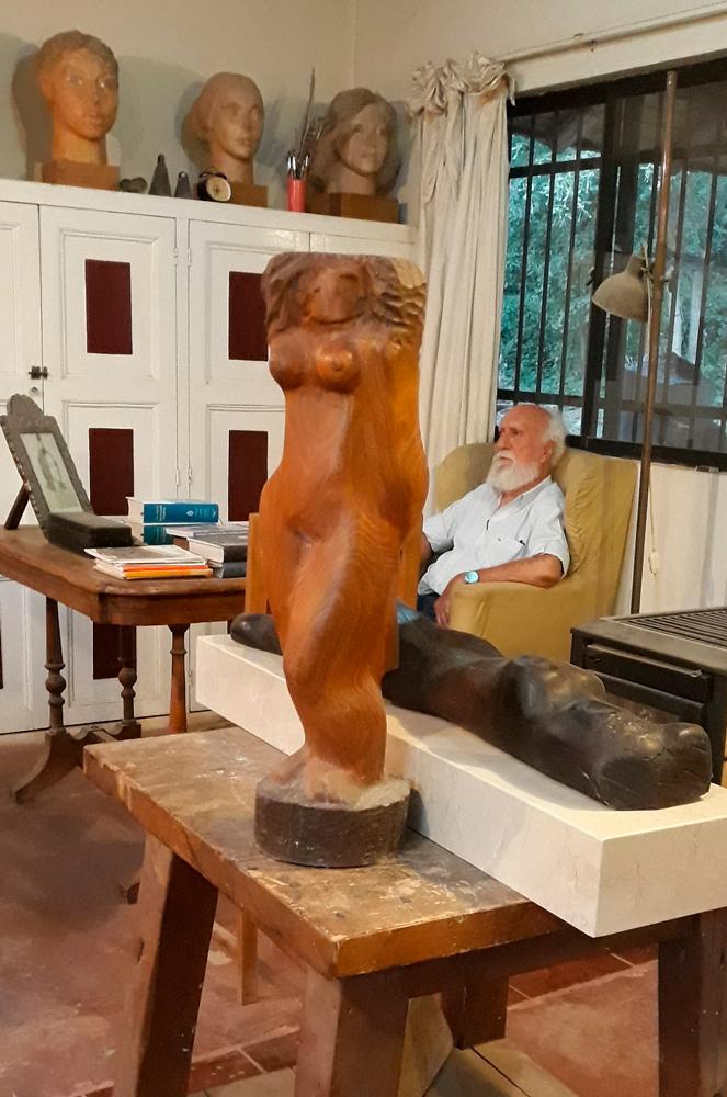 Esculpir en el tiempo: Conversaciones con Matías Vial