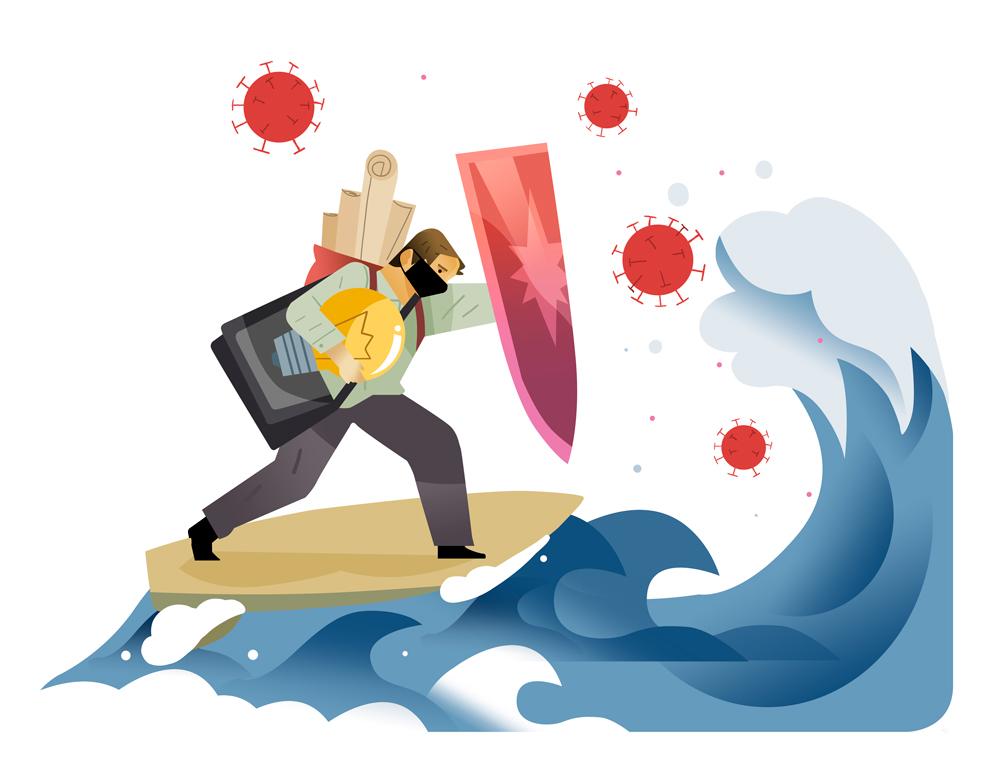 Resiliencia Empresarial ¡A Surfear la Ola!