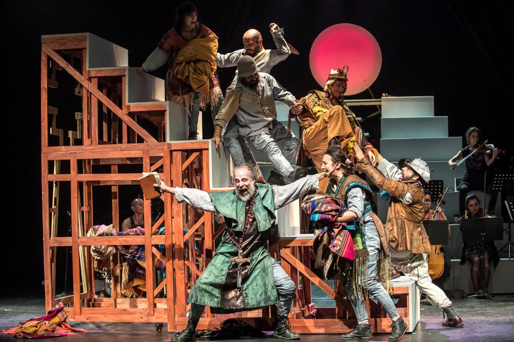 Tryo Teatro Banda  y sus dos décadas de juglaría