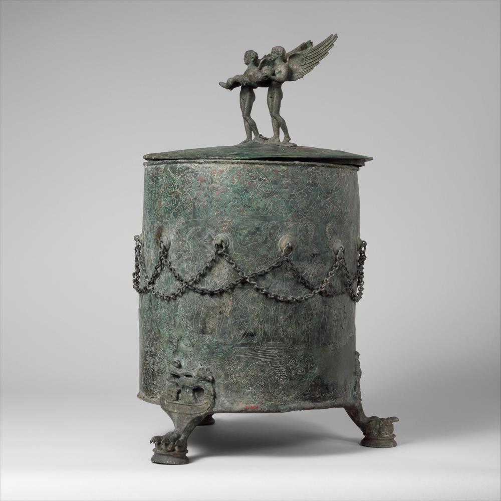 Objetos para guardar objetos: La Antigüedad grecolatina