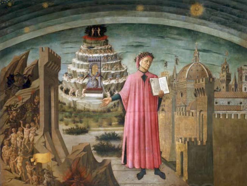 A 700 años de la muerte del autor italiano: Un viaje al Infierno, Purgatorio  y Paraíso de Dante