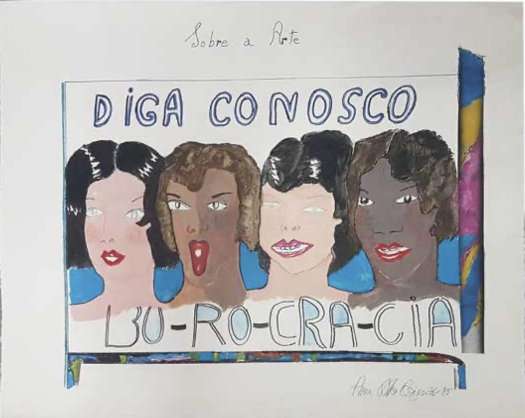 Anna Bella Geiger (1933, Río de Janeiro)