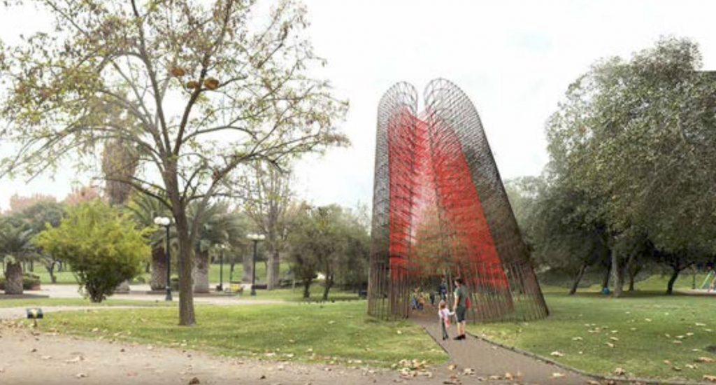 «DIONAEA» La escultura que rendirá homenaje a la mujer