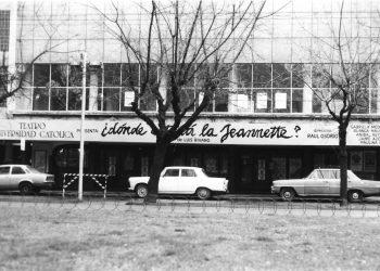Teatro UC antes
